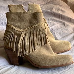 Gianni Bini fringe booties